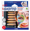 GIOTTO Schminkstifte in 6 Basic Farben