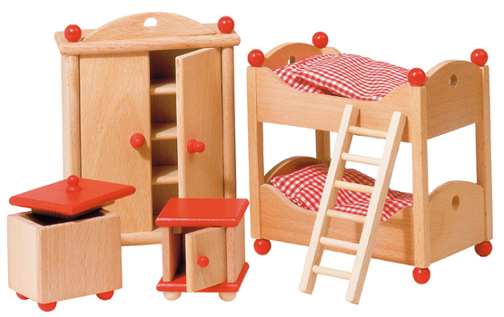 Puppenhausm bel kinderzimmer landhausstil zwergentr ume for Kinderzimmer landhausstil
