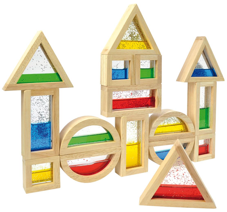blocks mit glitter fl ssigkeit 16 tlg zwergentr ume. Black Bedroom Furniture Sets. Home Design Ideas