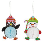 "Bastelset ""Winter-Wabenfigur"" - 2er Set"